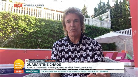 Editorial picture of 'Good Morning Britain' TV Show, London, UK - 14 Aug 2020