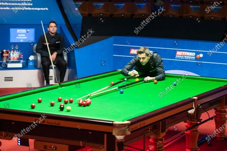 Editorial image of Exclusive - Betfred World Snooker Championship, Day Fifteen, Crucible Theatre, Sheffield, UK - 14 Aug 2020