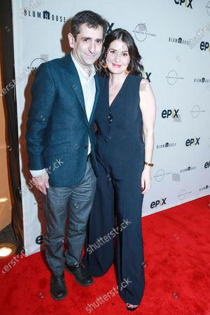 Stock Image of Jonathan Marc Sherman and Alexandra Shiva attend the This Is Home New York screening at SVA Theater