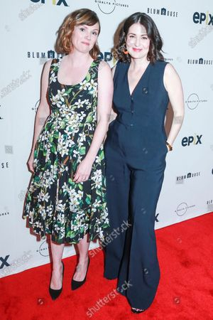 Lindsey Megrue and Alexandra Shiva attend the This Is Home New York screening at SVA Theater