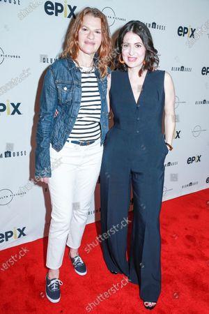 Sandra Bernhard and Alexandra Shiva attend the This Is Home New York screening at SVA Theater