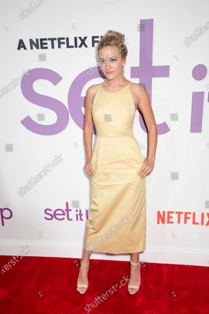 Meredith Hagner attends the Set It Up New York Screening at AMC Lincoln Square Theater