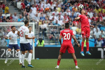 Blas Perez during the World Cup 2018 England vs Panama valid for the 2nd round of Group G held at the Níjni Novgorod Stadium, Russia. England wins over Panama 6-1.