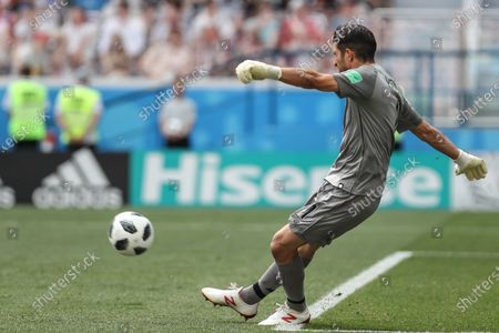Jaime Penedo during World Cup 2018 England vs Panama valid for the 2nd round of Group G held at the Níjni Novgorod Stadium, Russia. England wins over Panama 6-1.