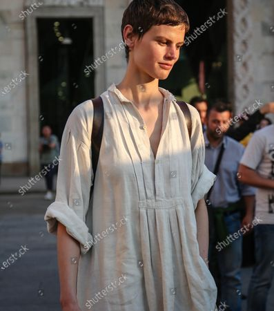 Editorial image of On the street of Milan, Italy - 15 Jun 2018