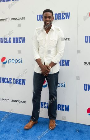 Chris Webber attends the Uncle Drew New York Premiere at Alice Tully Hall Lincoln Center