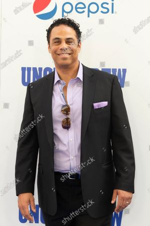 Adam Lazarre-White attends the Uncle Drew New York Premiere at Alice Tully Hall Lincoln Center