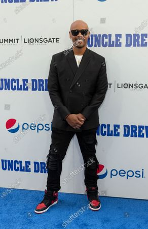 Lavar Walker attends the Uncle Drew New York Premiere at Alice Tully Hall Lincoln Center