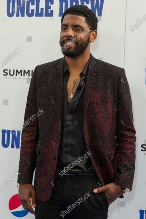 Stock Photo of Kyrie Irving attends the Uncle Drew New York Premiere at Alice Tully Hall Lincoln Center