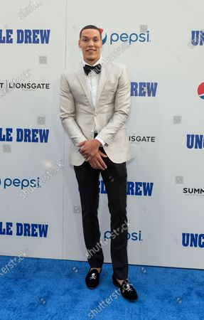 Aaron Gordon attends the Uncle Drew New York Premiere at Alice Tully Hall Lincoln Center