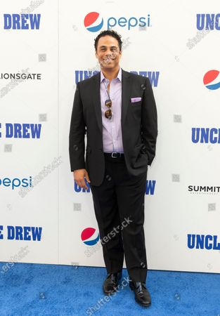 Stock Photo of Adam Lazarre-White attends the Uncle Drew New York Premiere at Alice Tully Hall Lincoln Center