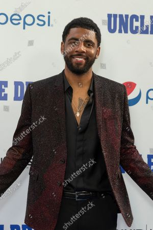 Kyrie Irving attends the Uncle Drew New York Premiere at Alice Tully Hall Lincoln Center