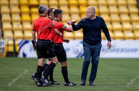 Editorial photo of Livingston v Rangers, Scottish Premiership, Football, Tony Macaroni Arena, Livingston, Scotland, UK - 16 Aug 2020