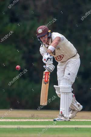 Jamie Smith (Surrey) during the Bob Willis Trophy match between Hampshire County Cricket Club and Surrey County Cricket Club at Arundel Castle, Arundel