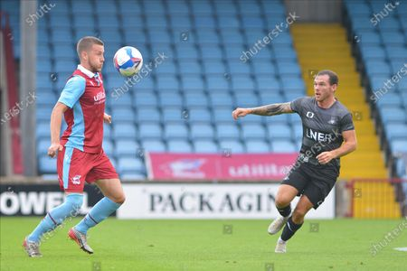 Editorial picture of Scunthorpe United v Doncaster Rovers, Pre-Season Friendly - 15 Aug 2020