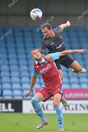 Editorial image of Scunthorpe United v Doncaster Rovers, Pre-Season Friendly - 15 Aug 2020