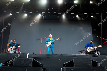 Editorial image of Two Door Cinema Club in concert, Virgin Money Unity Arena, Newcastle upon Tyne, UK - 15 Aug 2020
