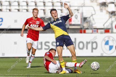 Editorial image of AZ Alkmaar vs AS Monaco, Netherlands - 15 Aug 2020
