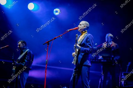 Editorial picture of Two Door Cinema Club, Newcastle upon Tyne, UK - 15 Aug 2020