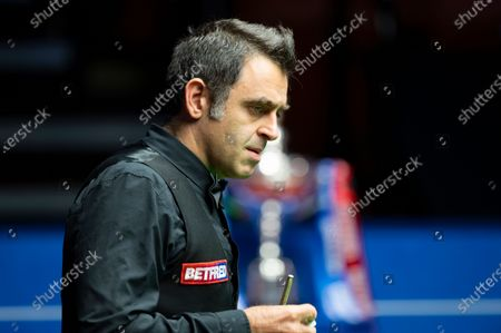 Editorial picture of Exclusive - Betfred World Snooker Championship Final, Day Seventeen, Crucible Theatre, Sheffield, UK - 16 Aug 2020