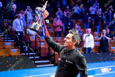 Ronnie O'Sullivan wins the 2020 Snooker World Championship