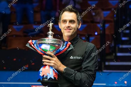 Editorial image of Exclusive - Betfred World Snooker Championship Final, Day Seventeen, Crucible Theatre, Sheffield, UK - 16 Aug 2020