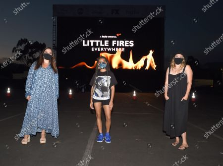 Editorial photo of Disney Drive-In series FYC event for Hulu's 'Little Fires Everywhere' TV show screening, Rose Bowl, Pasadena, California, USA - 15 Aug 2020