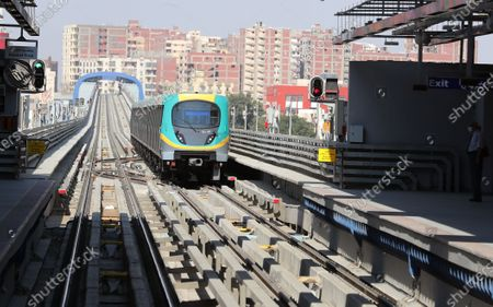 Editorial picture of Developing of Cairo's metro, Egypt - 16 Aug 2020