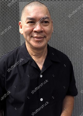 Taiwan-based Malaysian film director Tsai Ming-liang poses for photographs in Taipei, Taiwan, 16 August 2020. According to news report, Tsai's film 'Days' is among the 25 feature films from 19 countries to be shown during the 2020 New York Film Festival which is scheduled to open on 17 September. 'Days' portrays the short romantic encourter of two men - Kang, played by Taiwanese actor Lee Kang-sheng, and Non, played by Laotian immigrant Anong Houngheuangsy - in Bangkok, Thailand.
