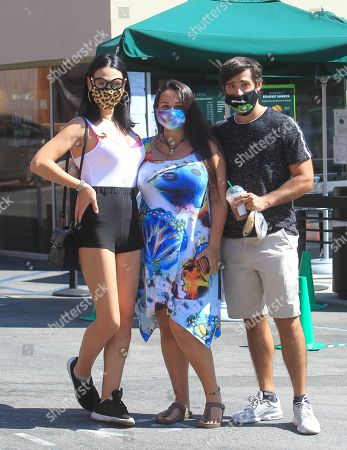 Editorial photo of Plastic Martyr, Jazz Jennings and Sander Jenning out and about, Los Angeles, California, USA - 15 Aug 2020