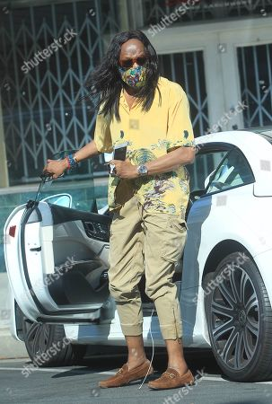 Editorial picture of Verdine White out and about, Los Angeles, California, USA - 15 Aug 2020