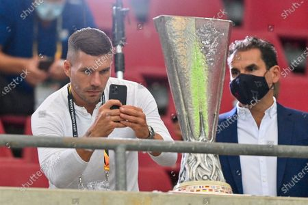 Editorial picture of Soccer Europa League, Cologne, Germany - 16 Aug 2020
