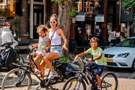 Editorial photo of Doutzen Kroes out and about, Amsterdam, The Netherlands - 16 Aug 2020