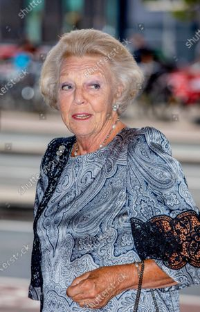 Her Royal Highness Princess Beatrix of the Netherlands attends a concert of the European Union Youth Orchestra at the Royal Concertgebouw