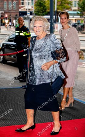 Editorial photo of Princess Beatrix attends European Union Youth Orchestra concert, Amsterdam, The Netherlands - 16 Aug 2020