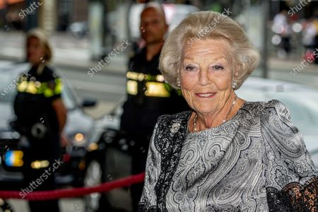 Editorial image of Princess Beatrix attends European Union Youth Orchestra concert, Amsterdam, The Netherlands - 16 Aug 2020