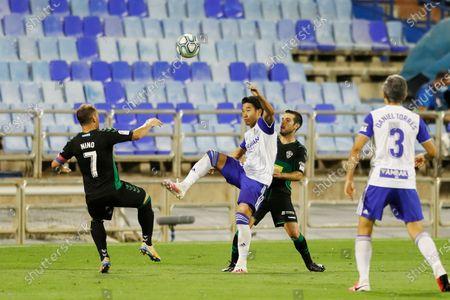 Editorial photo of Soccer : 2019-2020 La Liga SmartBank Promotion playoffs : Real Zaragoza 0-1 Elche CF, Zaragoza, Spain - 16 Aug 2020