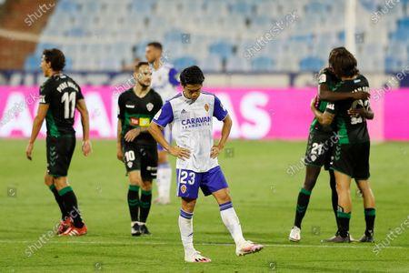 Editorial picture of Soccer : 2019-2020 La Liga SmartBank Promotion playoffs : Real Zaragoza 0-1 Elche CF, Zaragoza, Spain - 16 Aug 2020
