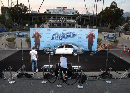 Editorial image of 'The World According to Jeff Goldblum' Disney Drive-In series FYC Event, Pasadena, USA - 16 Aug 2020