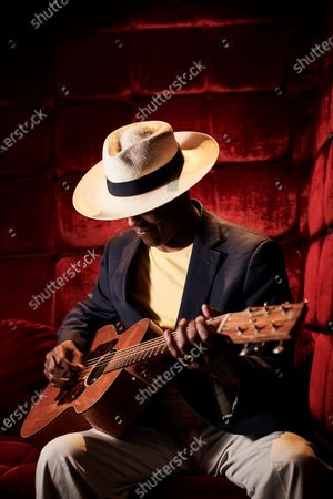 Editorial image of Eric Bibb Portrait & Live Shoot, Keeping The Blues Alive At Sea 2019 - 17 Aug 2020