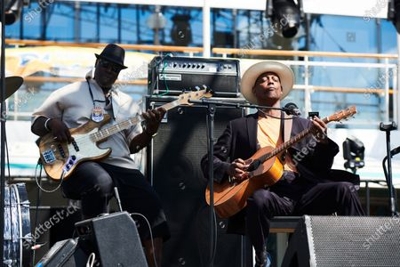 Editorial photo of Eric Bibb Portrait & Live Shoot, Keeping The Blues Alive At Sea 2019 - 17 Aug 2020