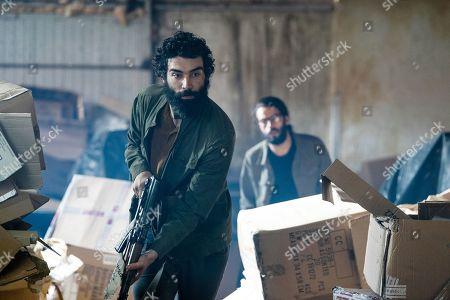 Alec Secareanu as Zayef and Bamshad Abedi-Amin as Mahir