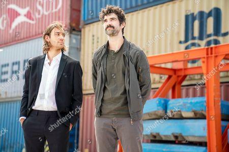Maxim Baldry as Loric and Alec Secareanu as Zayef