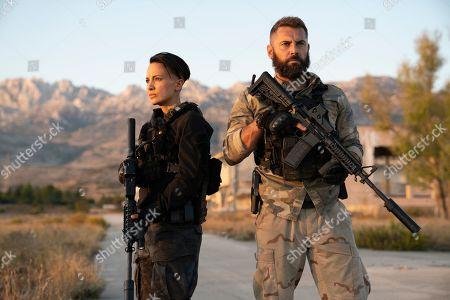 Alin Sumarwata as LCpl. Gracie Novin and Daniel MacPherson as Sgt. Samuel Wyatt
