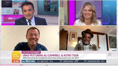 Adil Ray, Charlotte Hawkins, Ali Campbell, Astro