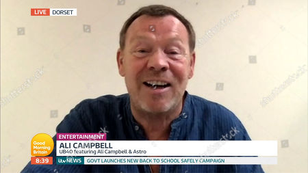 Stock Image of Ali Campbell