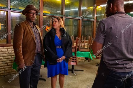Courtney B Vance as Louis and Niecy Nash as Sylvia