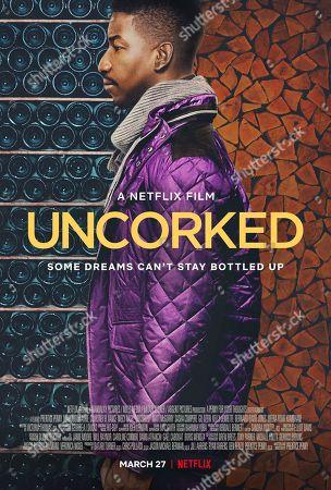 Uncorked (2020) Poster Art. Mamoudou Athie as Elijah