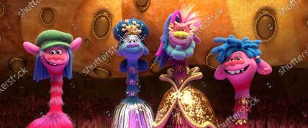 Editorial photo of 'Trolls World Tour' Film - 2020