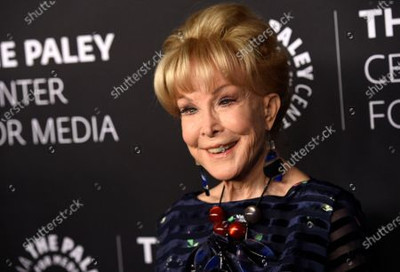 """Barbara Eden poses at """"The Paley Honors: A Special Tribute to Television's Comedy Legends"""", in Beverly Hills, Calif. Eden turns 89 on Aug. 23"""